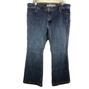Gap 16 Reg Long and Lean Bootcut Flare Jeans Blue